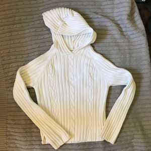 Gap Cableknit Hooded Sweater